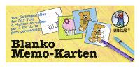 Blanko Memory 6x6cm, 60 Karten