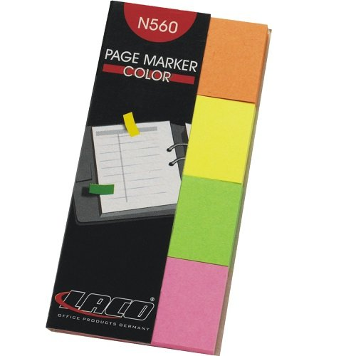 Page Marker - Haftnotizen color 20x38mm
